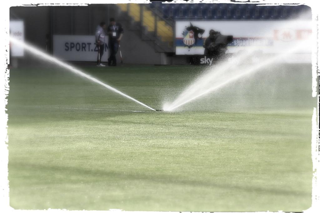 Bewässerung ...