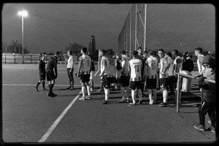 Einlauf der Mannschaften